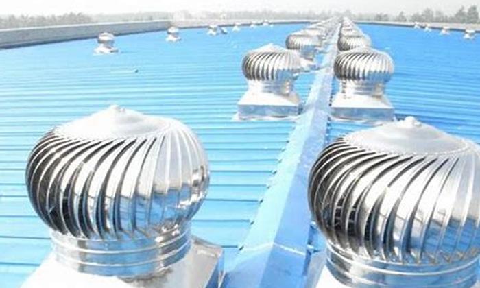 Factories Up Side Turbo Ventilator Factory Roofs Viral News-TeluguStop.com
