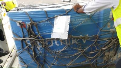 First Consignment Of Sputnik V Arrives In Hyderabad (Ld)-General-English-Telugu Tollywood Photo Image-TeluguStop.com