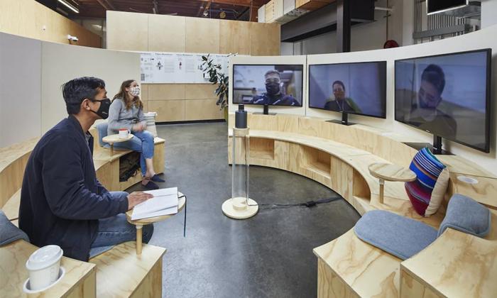 Google To Impart Google Hybrid Work Week To Its Employees Due To Corona-TeluguStop.com