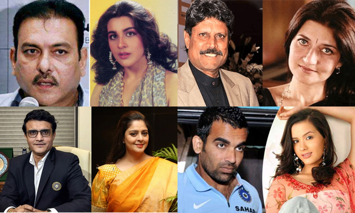 Indian Cricketers Who Are Having Love Affairs With Heroines-TeluguStop.com
