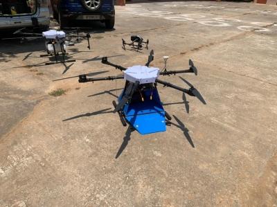 ISRO Trials Garuda Drones For Veggies & Med Delivery In Sriharikota-General-English-Telugu Tollywood Photo Image-TeluguStop.com
