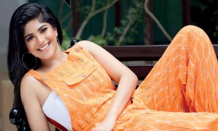 Megha Akash Four Telugu Movies Onroll-తెలుగులో నాలుగు సినిమాలు చేతిలో ఉంచుకున్న మేఘా ఆకాష్-Latest News - Telugu-Telugu Tollywood Photo Image-TeluguStop.com