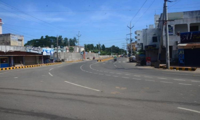 18-hour Curfew Starts From Today In Ap-TeluguStop.com