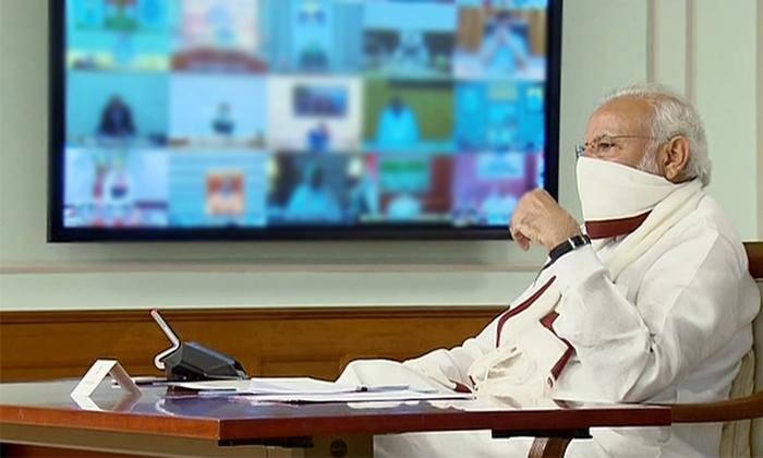 Pm Modi Led Virtual Video Conference With Cabinet Ministers On Corona Lock Down-మోడీ అధ్యక్షతన కేంద్ర కేబినెట్ భేటీ..-Latest News - Telugu-Telugu Tollywood Photo Image-TeluguStop.com
