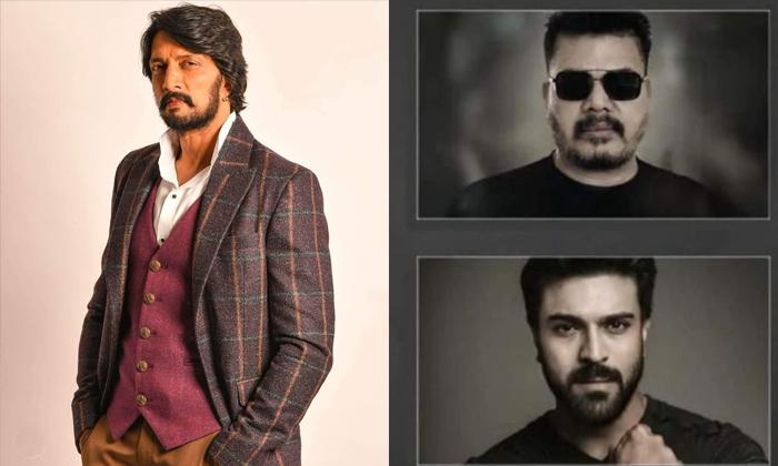 Ram Charan And Shankar Movie Update Kannada Hero Sudeep Key Role-చరణ్, శంకర్ మూవీలో ఆ సూపర్ స్టార్ నటించబోతున్నాడట-Latest News - Telugu-Telugu Tollywood Photo Image-TeluguStop.com