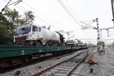 Second Oxygen Express Returns To Hyderabad From Odisha-General-English-Telugu Tollywood Photo Image-TeluguStop.com