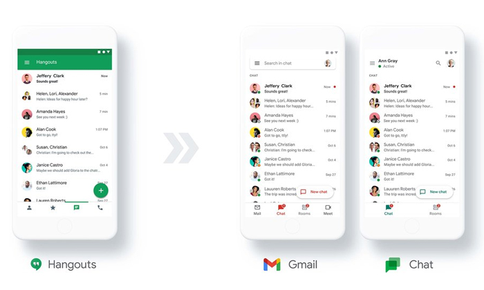 Technology Google To Bring New Chatting App Google Chat-TeluguStop.com