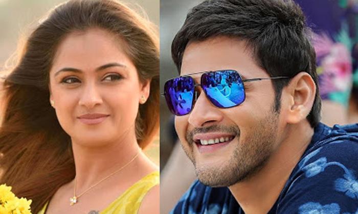 Trivikram Choose Simran For Mahesh Babu Movie-TeluguStop.com