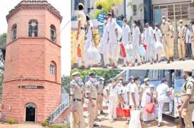 135-year-old Warangal Jail Slides Into History-TeluguStop.com