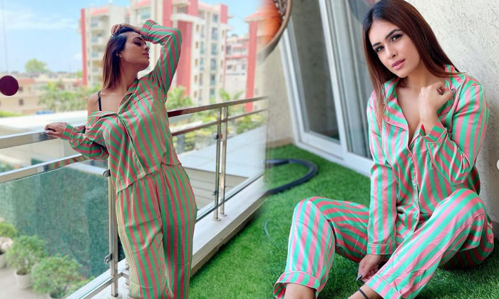 Actress Neha Malik Beautiful Stilys Pics-telugu Actress Hot Photos Actress Neha Malik Beautiful Stilys Pics - Telugu Im High Resolution Photo