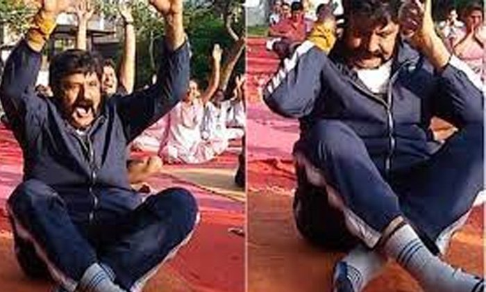 Balayya Babus Key Comments On The Occasion Of Yoga Day-TeluguStop.com