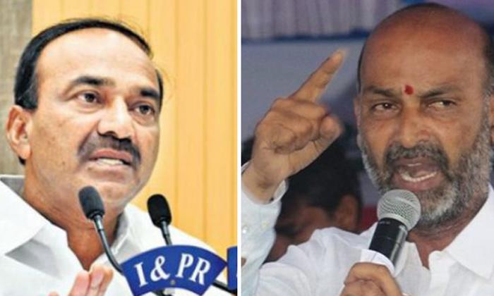 Telugu Bandi Sanjay, Bjp Bandi Sanjay, Bjp Politics, Etela Politics, Etela Rajender, Two Leaders Leading Etela Bjp Politics, Vivek And Kishan Reddy-Telugu Political News