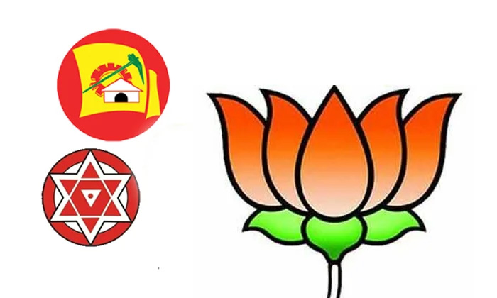 Pawan Kalyan Took The Responsibility Of Convincing The Bjp To Form An Alliance With The Tdp-TeluguStop.com
