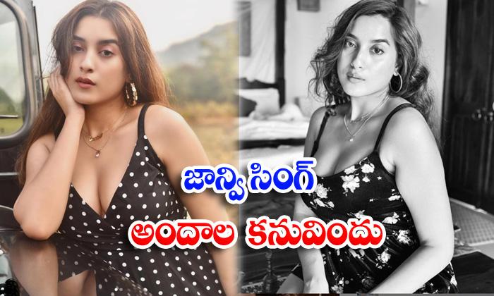 Bollywood actress Janvi Singh hot stills-జాన్వి సింగ్ అందాల కనువిందు