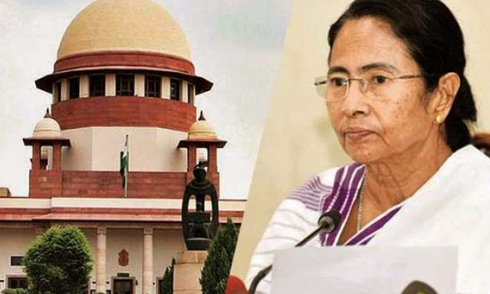 West Bengal Chief Minister Shocked By Supreme Court-ప్రజలను ఇబ్బంది పెడుతున్న రాజకీయ పోరు.. పశ్చిమ బెంగాల్ ముఖ్యమంత్రికి షాకిచ్చిన సుప్రీంకోర్టు.. -Breaking/Featured News Slide-Telugu Tollywood Photo Image-TeluguStop.com
