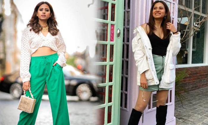 Glamorous Photos Of Social Media Sensation Model Sargun Mehta-telugu Actress Hot Photos Glamorous Photos Of Social Media High Resolution Photo