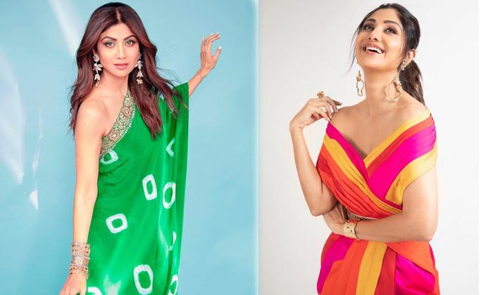 Gorgeous Beauty Actress Shilpa Shetty Awesome Photoshoot - Telugu Actress Shilpa Shetty Latest Glamorous Photoshoot Mov High Resolution Photo