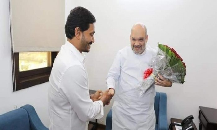 Jagan Urges The Union Ministers To Reconsider The Decision On Privatization Of Vsp-TeluguStop.com