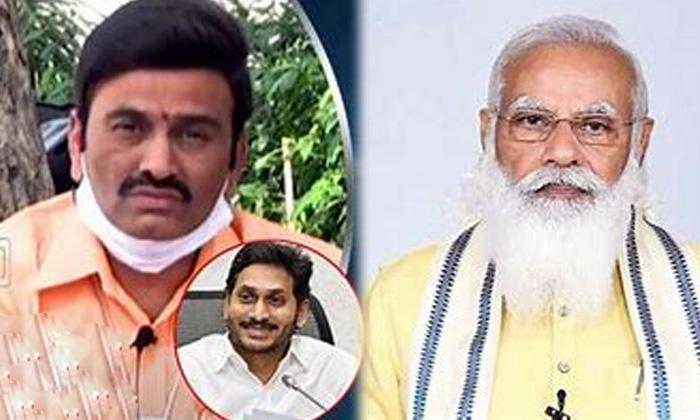 Jagin Speeds Up Mp Raghuram S Affair In Delhi Ycp Jagan-TeluguStop.com