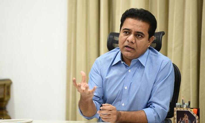 Ktr Letter To Finance Minister Nirmala Sitharaman-TeluguStop.com