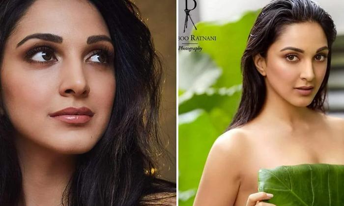 Telugu Heroine Kiara Advani Sizzling Beach For Photoshoot-TeluguStop.com