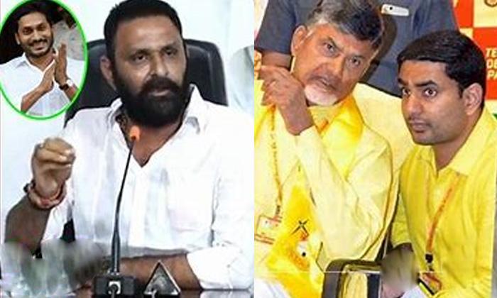 Kodali Nani Serious Comments On Lokesh And Chandrababu-TeluguStop.com