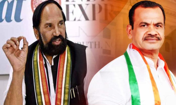 Mp Komatireddy Who Went To Delhi Once Again Uttamkumar Reddy Behind The Scenes-TeluguStop.com
