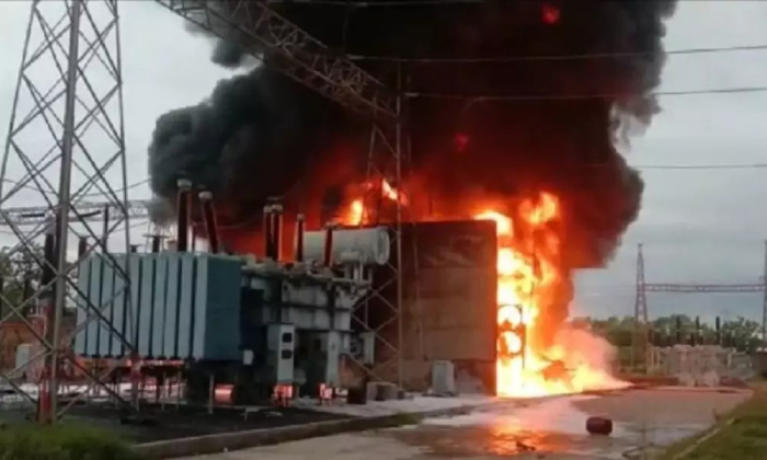 A Massive Fire Broke Out In A Substation In Bhadradri Kottagudem District-TeluguStop.com