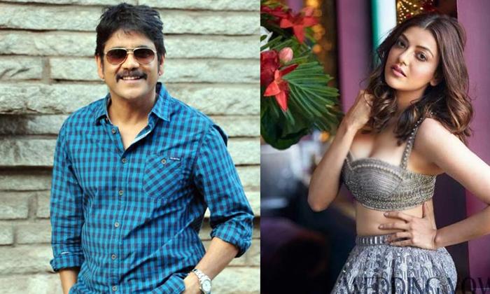 Tollywood Actress Kajal Aggarwal Play Prostitute Role Nagarjuna Movie-TeluguStop.com