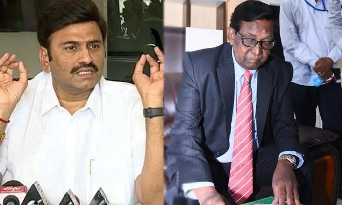 Raghuram Krishnan Raju Once Again Wrote A Letter To Ap Cm Jagan Over Justice Kanakaraj-TeluguStop.com
