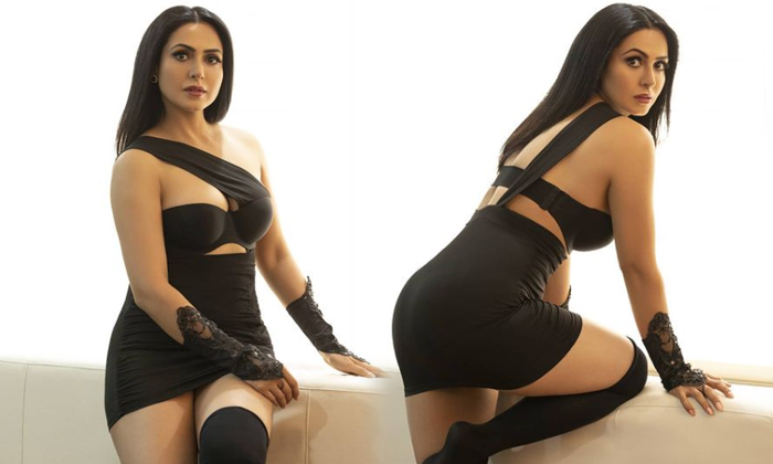 South Indian Actress Nandini Rai Captivating Clicks-telugu Actress Hot Photos South Indian Actress Nandini Rai Captivati High Resolution Photo