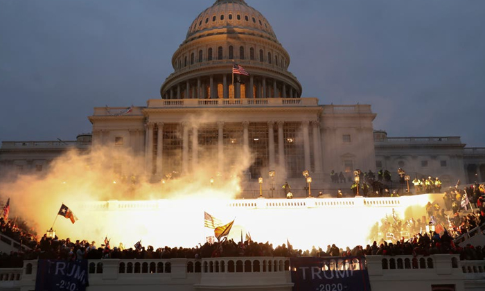 Senate Report Omits Trumps Role In Us Capitol Riots Reveals New Details On Security Failure-క్యాపిటల్ భవనంపై దాడి: ట్రంప్ పాత్ర ఏంతంటే, సెనేట్ బృందం నివేదికలో వాస్తవాలు-Latest News - Telugu-Telugu Tollywood Photo Image-TeluguStop.com