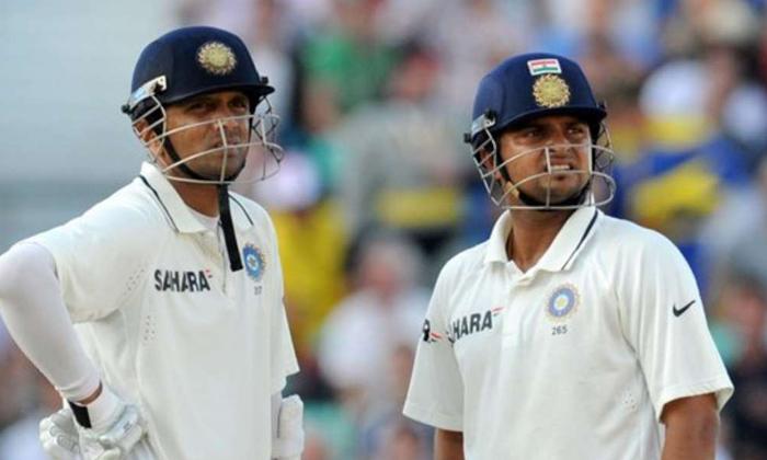 Suresh Raina Comments On Rahul Dravid-TeluguStop.com