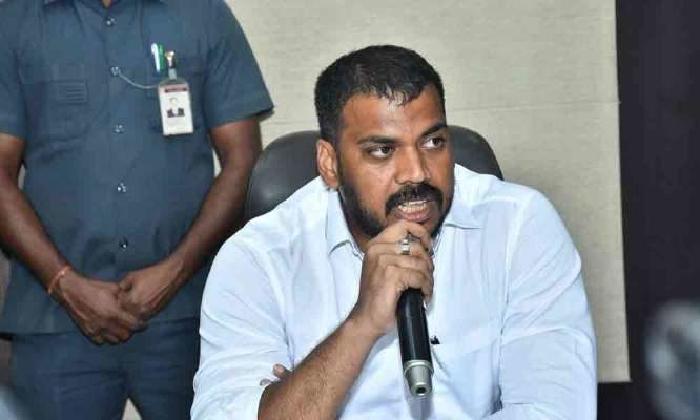 TDP Is Using MP Raghurama To Obstruct The Polavaram Project: AP Minister-Latest News - Telugu-Telugu Tollywood Photo Image-TeluguStop.com