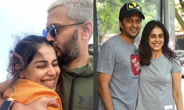 What Is The Age Difference Between Genelia And Her Husband-TeluguStop.com