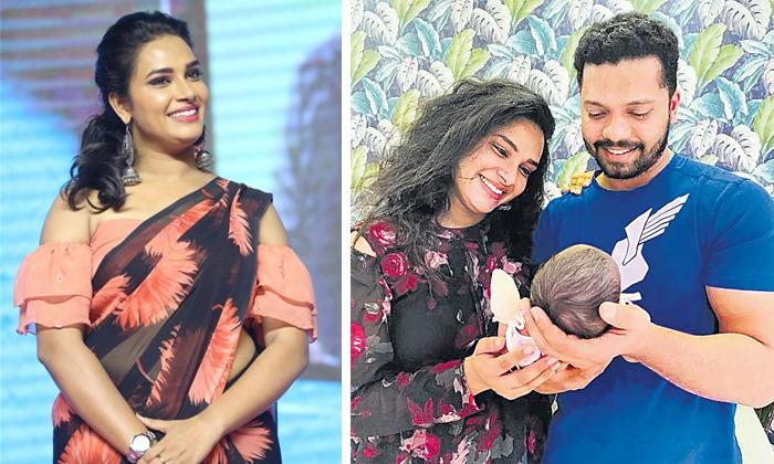 Hariteja Daughter Photos Goes Viral In Social Media-TeluguStop.com