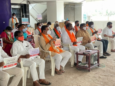 Andhra Govt Hiking Taxes To Funds Freebies: Bjp-TeluguStop.com