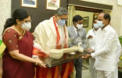 Cji Arrives In Hyderabad To Warm Welcome On Maiden Visit-TeluguStop.com