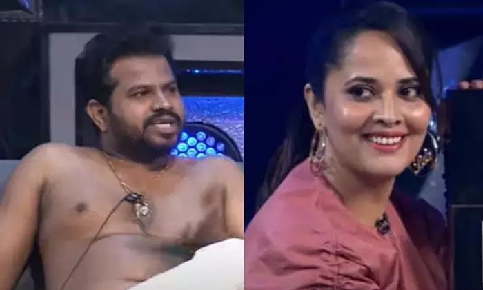 Hyper Aadi Anasuya Bharadwaj Creates Fun In Omkars Sixth Sense Season 4-హైపర్ ఆది బట్టలు విప్పించిన స్టార్ యాంకర్.. ఏమైందంటే..-Latest News - Telugu-Telugu Tollywood Photo Image-TeluguStop.com