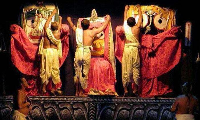 Today Will Perform Deva Snana Yatra To Lord Jagannath In Puri Temple-TeluguStop.com