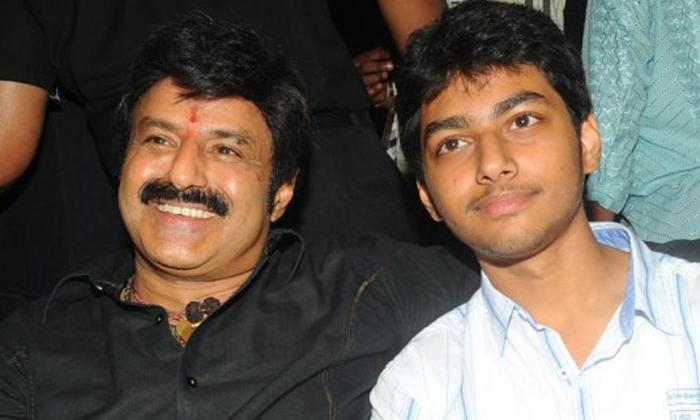 Balakrishna Son Mokshagna Movie Entry-TeluguStop.com