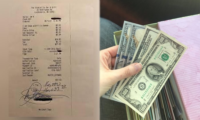 Great Man Who Gives 16 Thousand Dollars As Tip-TeluguStop.com