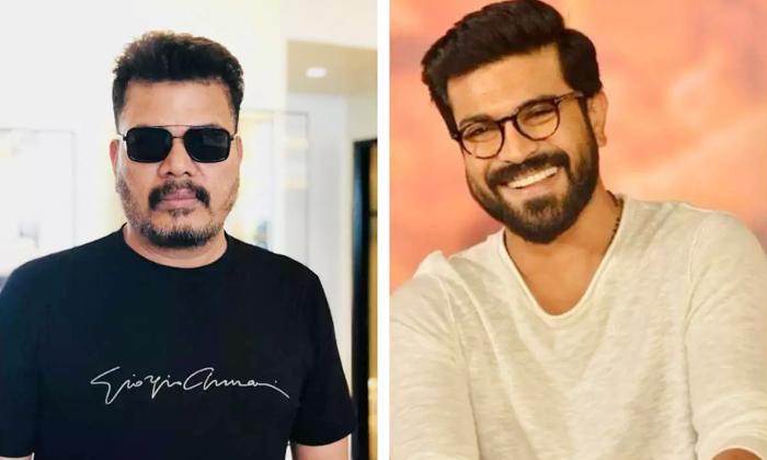 Hero Ram Charan Shocking Look In Shankar Movie-TeluguStop.com