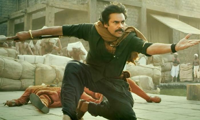 Pawan Kalyan Krish Movie Hari Hara Veeramallu On Location Video Leaked-TeluguStop.com