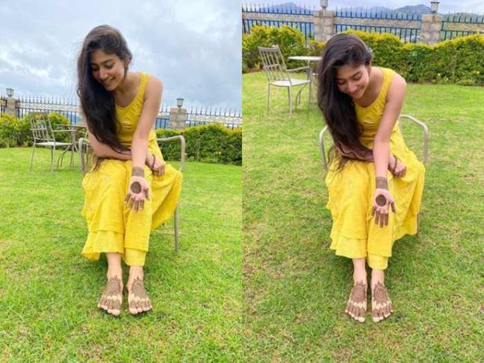 Heroine Sai Pallavi Gorinta Viral Photos-TeluguStop.com