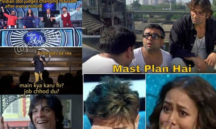 Successful Singing Show Latest Season Memes Goes Viral In Social Media-TeluguStop.com