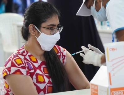 Mega Vaccination Drive Held At Hitex, Hyderabad-General-English-Telugu Tollywood Photo Image-TeluguStop.com