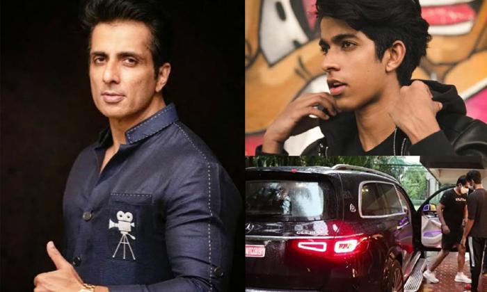 Real Hero Sonu Sood Denies Buying New Car For His Son-TeluguStop.com