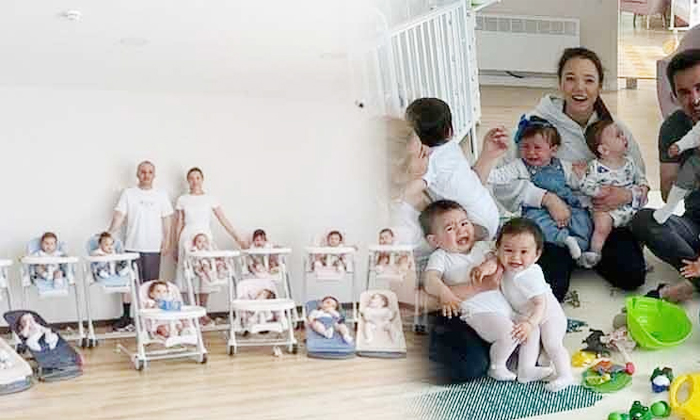 Russian Woman Christina Ozturk Target 100 Babies Through-ఇదేం పిచ్చిరా బాబు: 100 మంది పిల్లలను కనడమే మా టార్గెట్ అంటున్న జంట..-General-Telugu-Telugu Tollywood Photo Image-TeluguStop.com