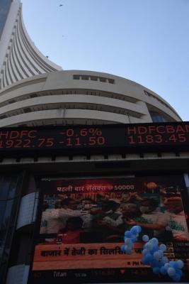 Sensex, Nifty Climb New Highs, End At Record Closing Levels (ld)-TeluguStop.com